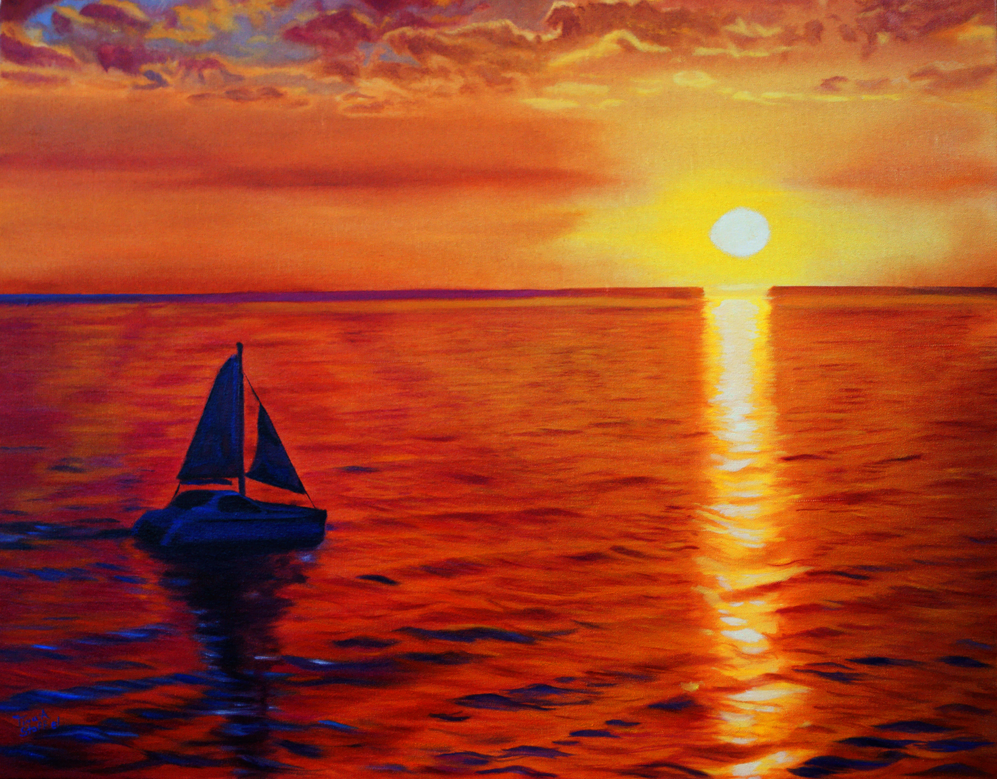 Sailing Into Paradise