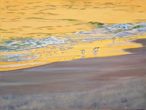 Sunset Sandpipers