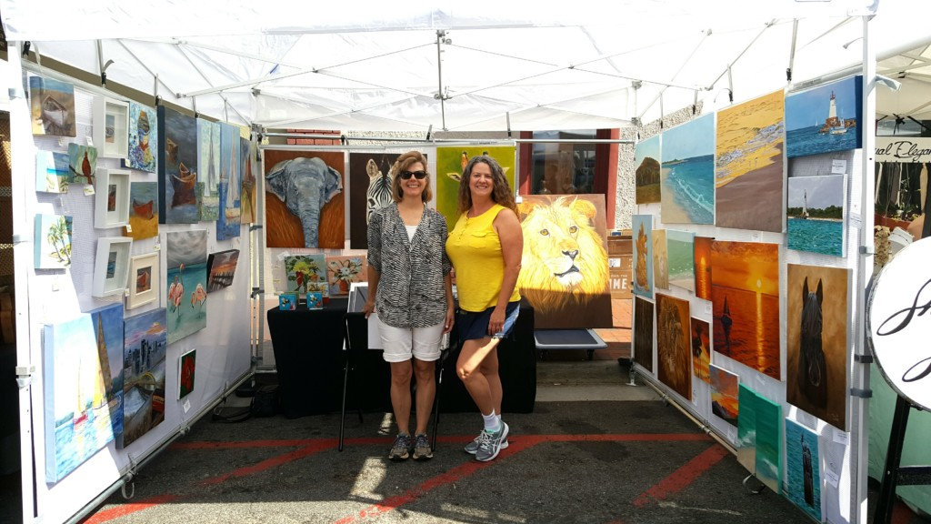 Marietta Local Artists Tina A Stoffel and Laurie Henry