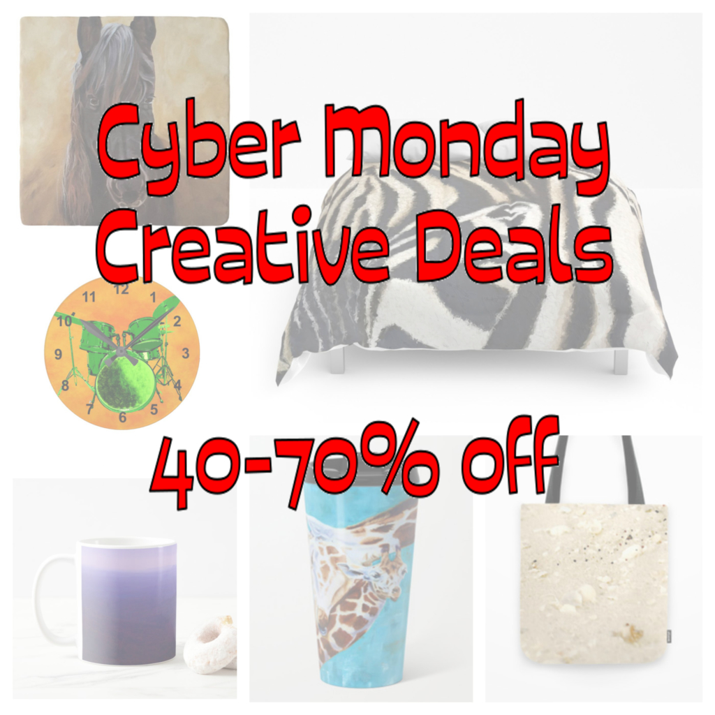 Cyber Monday Creative Deals from Tina A Stoffel Arts