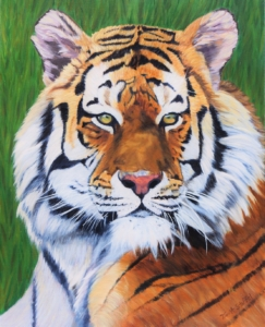 Tiger Painting Tina A Stoffel LR